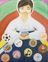「輝く星達」 パク・ミヨン 愛知朝鮮中高級学校