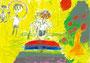 「跳び箱をとぶ僕」 ペク・テジン 神戸朝鮮初中級学校