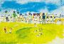 「ならー若草山山頂で」 チェ・リョンファ 大阪朝鮮第四初級学校
