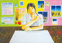 「描きたいもの」 パク・エスン 東京朝鮮第五初中級学校