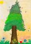 「成長した大きな木」 パク・セラ 福岡朝鮮初級学校