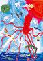 「空に飛び上がる生物」 ハン・チノ 東京朝鮮第九初級学校