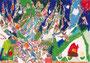 「大きく育った木」 キム・チェリム 横浜朝鮮初級学校