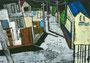 「校門から見える風景」 カン・ミユ 東京朝鮮第九初級学校