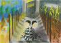 「二人の囚人が鉄格子の窓から外を眺めた。一人は泥を見た、ひとりは星を見た。」 キン・チセ 東大阪朝鮮中級学校