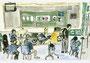 「楽しい図工時間」 カン・テヨン 山口朝鮮初中級学校