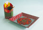 「チョゴリえんぴつ立てと、お皿」 チェ・スヨン 千葉朝鮮初中級学校