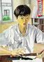 「あっ!墨汁が・・・」 リ・テホ 東京朝鮮第五初中級学校