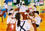 「いつもの美術部の時間」 チャン・カナ 東京朝鮮第五初中級学校