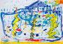 「雨の中楽しかった運動会」 チョン・キョンサ 長野朝鮮初中級学校