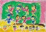 「うんどうかい」 リム・ミリョン 東京朝鮮第五初中級学校