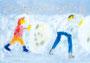 「雪降る日」 ミン・チェドン 豊橋朝鮮初級学校