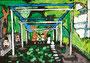 「公園での写生時間」 リ・ソンフィ 東京朝鮮第九初級学校
