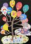 nako 2年生「くもの上 にこにこ ふうせんの木」