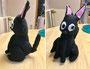 黒猫のぬいぐるみ