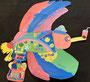 ruka 3年生「親鳥が タピオカを はこんで 島に 帰るとちゅう」