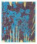 40:  MANA KU – LIKE – Die formverändernde Kraft / 2015 / Mischtechnik auf Leinwand/ Zweimal 50x60 (Bilderduo mit 39) – Original: CHF 2000