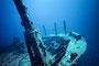 Schiffswrack im Süd-Male-Atoll, Indischer Ozean - Malediven
