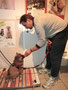 1. Tierarztbesuch auf der Waage