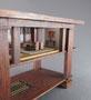 Table by Bob Hurd.  Room box by Fran Sussman