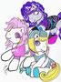 Mi pequeño pony: Jerrica, Jem y Sinergy no disponibles para su venta jajaja