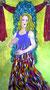 SCHÜTZIN Acryl auf Leinwand AUFTRAGSWERK  100 x 180