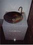 信楽の手洗器