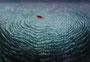 幼い海と知らせる舟 2015 油彩、キャンバス 116.7cm×80.3cm