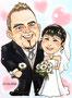 ひろみさん結婚式:洋装