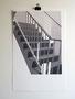 13-uit de reeks; Trappenhuis. 50x32cm