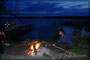 Abends am Beldahner See