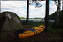 Biwak am großen Sysdroy See