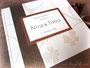 Personalisiertes Hochzeitsalbum nach ausgewählten Materialien meiner symphatischen Auftraggeberin.  ڿڰ✿ Vielen Dank an Nina D. aus S.