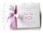 Foto-Gästebuch Taufe rosa weiß selbst gestalten
