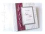 Gästebuch HOCHZEIT in den Farben weiss seidenmatt, silber-, bordeaux- und pinkfarben. Mit individuellem Druck auf dem Einband. VIELEN DANK an ڿڰ✿ K.R. aus B.