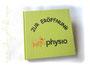 Gästebuch zur Praxiseröffnung - Format 21cm x 21cm, elfenbeinfarbener Buchblock, Ganzband Strukturpapier hellgrün, Cover mit Logo. Gerne setze ich Ihr Buchprojekt um. Bitte einfach anfragen, so wie ڿڰ✿ A.K. aus H. HERZLICHEN DANK!