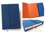 Buch mit Klappe und Magnetverschluß - Format, Blattanzahl, Einbandmaterial und Farben sind frei wählbar.