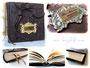 Individuelles Gästebuch - Fantasievoll, detailreich, materialharmonisch, handgefertigt - Bücher von BurgLicht.