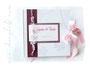 Foto-Gästebuch mit Druck von individuellen Gästefragen zur Hochzeit.
