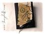 Großes Reisetagebuch - Das individuelle Reisetagebuch mit antikem Charakter ist mit dunkelbraunem Kalbslederimitat bezogen. Spezielle Einbandgestaltung mit nautischen Elementen und Taschenuhr. HERZLICHEN DANK an ڿڰ✿ A.A. aus Österreich