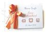 Foto-Gästebuch Taufe - 21cmx16cm, 20 Blatt weiß, mit Wunschtext und individualisierbaren Taufsymbolen bedruckter Einband; in den Farben weiß, hellgrau und apricot.