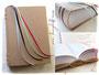 A4-Buch mit 1000 Seiten - Das Hardcoverbuch ist mit Crashlederstoff bezogen. Der fadengeheftete Buchblock umfaßt 500 Blatt karierten 80g/m²-Papiers. 4 Lesebänder in Kapitelfarben. Ein Sonderanfertigung nach den Wünschen von O.R. ڿڰ✿ LIEBEN DANK.