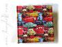Kinderalbum - 30cm x 30cm, 100 Seiten weiß, Hardcover gepolstert, Bezug: Lizenzstoff DISNEY CARS 3