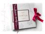 Foto-Gästebuch mit Gästefragen - Individuell bedruckter Fotokarton zum Fotoalbum-Buchblock gebunden.