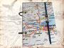 """Reisetagebuch """"Edinburgh"""" - Für persönliche Gedanken, Notizen, Skizzen und Bilder. Ringbuch mit Blankopapier, Innentasche und Buchgummi . DANKE! B.V. aus H."""