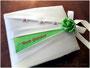 Fotogästebuch zur Hochzeit - in den Farben creme, fuchsia und grün; mit Stickerei, Perlen, Schleifenverschluss und handgenähter Satinrose. HERZLICHEN DANK an meine Auftraggeber ڿڰ✿ Andrea & Peter