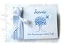 Foto-Gästebuch Baum Taube hellblau weiß