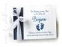 Gästebuch zur Taufe, Namensweihe oder Babyshower-Party mit Wunschtext und individueller Grafik; variabel in Format und Seitenanzahl; in Ihren Lieblingsfarben.