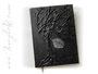 Repräsentatives Trauerbuch - Großes Format von 30cm x 42cm mit 300 Seiten. Angefertigt für ein Seniorenstift.