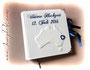 Fotogästebuch mit individueller Einbandgestaltung und einem mit Gästefragen bedruckter Fotoalbum-Buchblock. Ein Unikat - erdacht von Markus R. ★ LIEBEN DANK & GRÜSSE gen Norden! ★